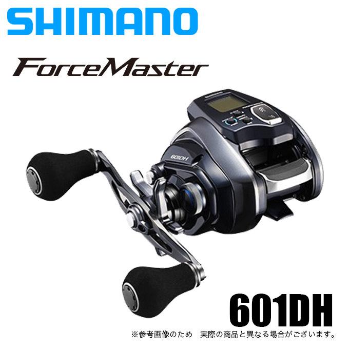 (5)シマノ フォースマスター 601DH (左ハンドル) 2020年モデル/電動リール /SHIMANO/Force Master/船釣り/