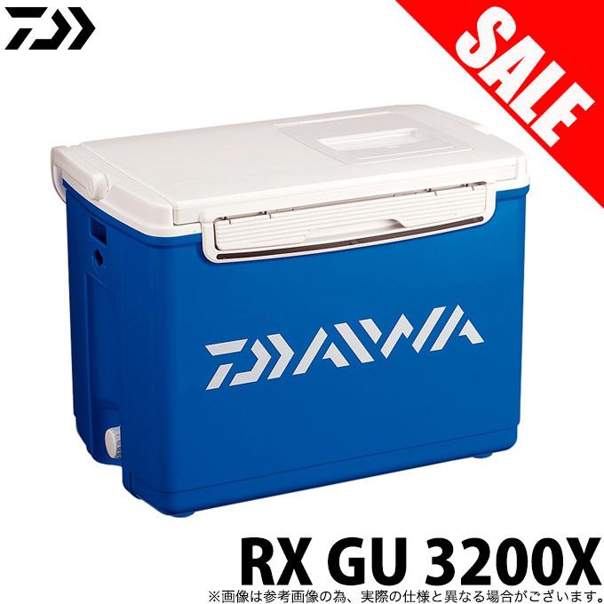 (7)【数量限定】【送料無料】 ダイワ RX GU 3200X (カラー:ブルー) /クーラーボックス/汎用 /DAIWA