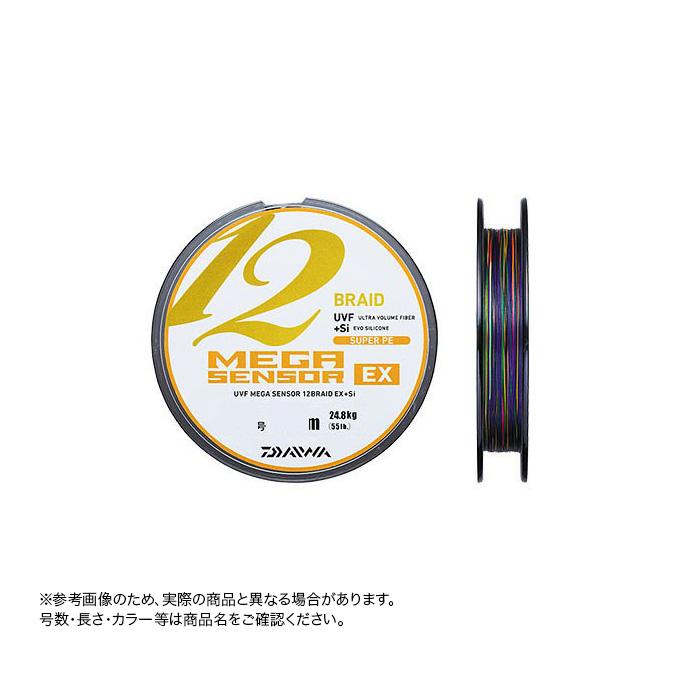 (c)【取り寄せ商品】ダイワ UVF メガセンサー 12ブレイド EX+Si 1.5号-300m (船釣り/PEライン)