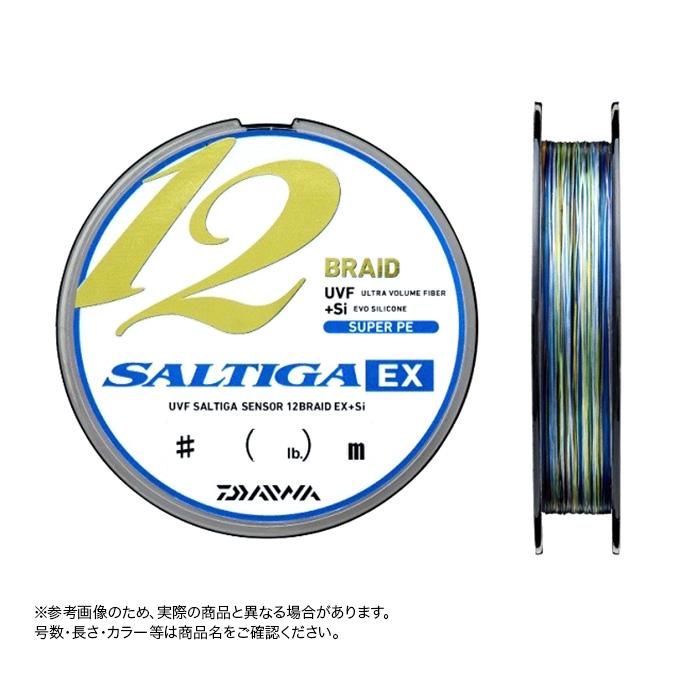 (c)【取り寄せ商品】ダイワ UVF ソルティガ センサー 12ブレイドEX+Si 1.5号-300m (ジギング・キャスティング/PEライン)