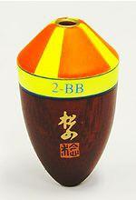 (c)【取り寄せ商品】サンライン 松田ウキ 松山M BB-3B ピエル帯グリーン (フカセ釣り/円錐ウキ/フカセウキ)