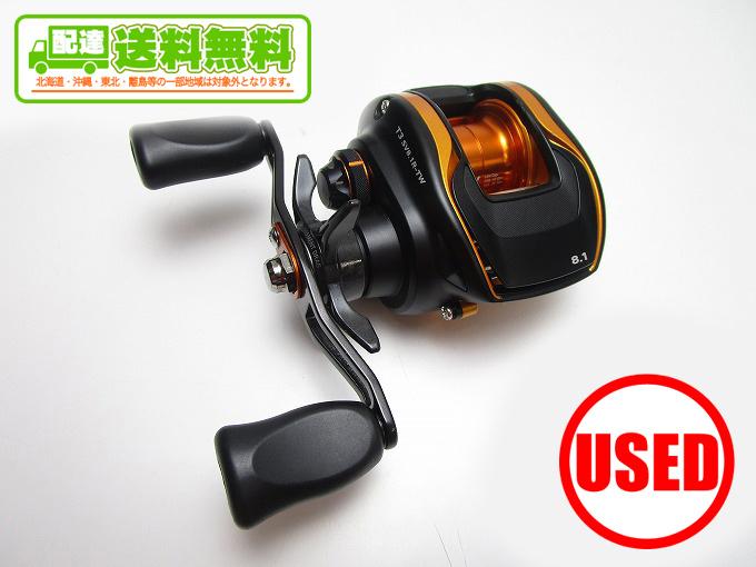 (2)【中古】【送料無料】ダイワ T3 SV 8.1R-TW (右ハンドル)