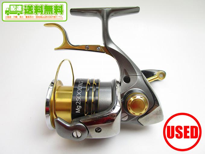 (2)【中古】【送料無料】シマノ BB-X テクニウム Mg2500DXG (替えスプール付属)