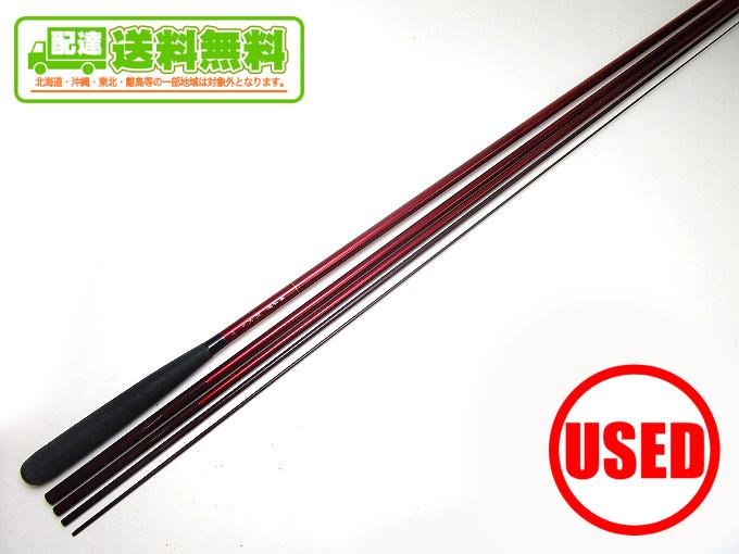 (2)【中古】【送料無料】ダイワ 飛燕峰 烈火S 15 (15尺)