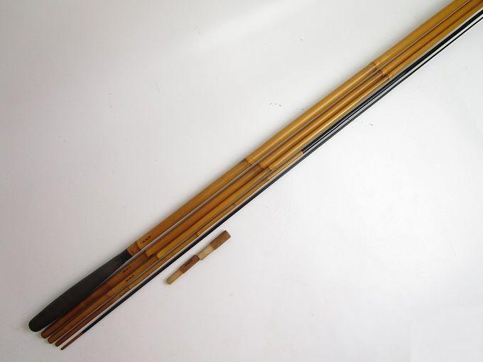 (5)【中古】【送料無料】古老竹 15.2ヘラブナ/へら竿/釣竿/釣具