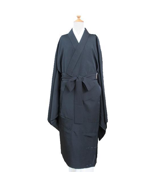 合冬用 黒衣 LL ~ 身巾広 化繊地