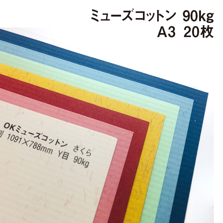 商品代金\3.980-以上ご購入で送料無料 すのめ柄の入ったファンシーペーパー お買い物マラソンポイント10倍 クーポン配布中 ミューズコットン 90kg 0.17mm A3 20枚 パステル画 色鉛筆 超特価SALE開催 297×420mm カード 本の表紙 水彩画 希少