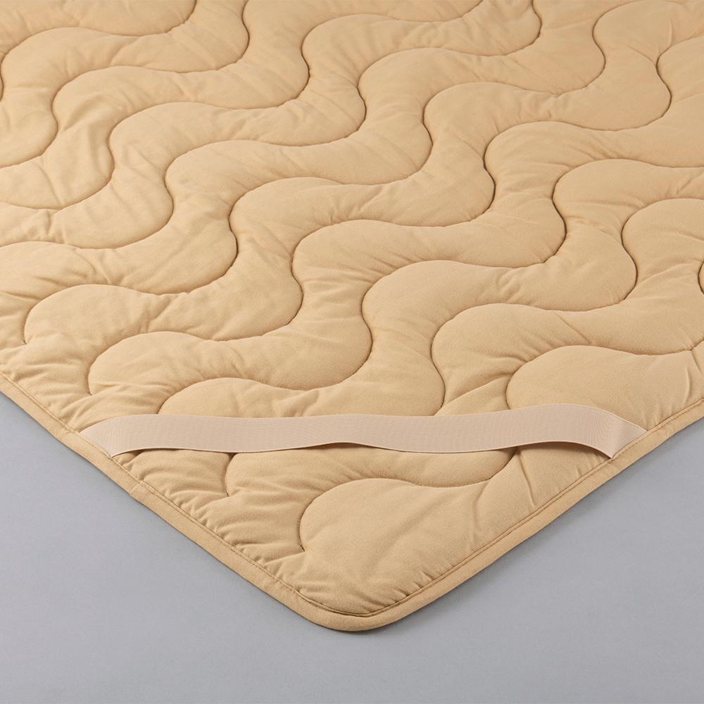 CAMEL×CAMEL キャメルエクセレントパッド K(キング) キャメルキャメル [敷きパッド ベッドパッド キャメル100 日本製 丸三綿業]
