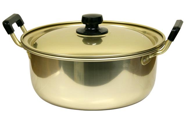 アカオ純しゅう酸実用鍋39cm