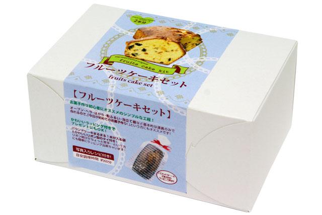 フルーツケーキセットリニューアルしました 横17.5cm×縦6.5cm×高さ4.5cmのパウンドケーキが2本分できあがります フルーツケーキセット ハイクオリティ 賞味期限21.11.6 レシピ付き (人気激安)