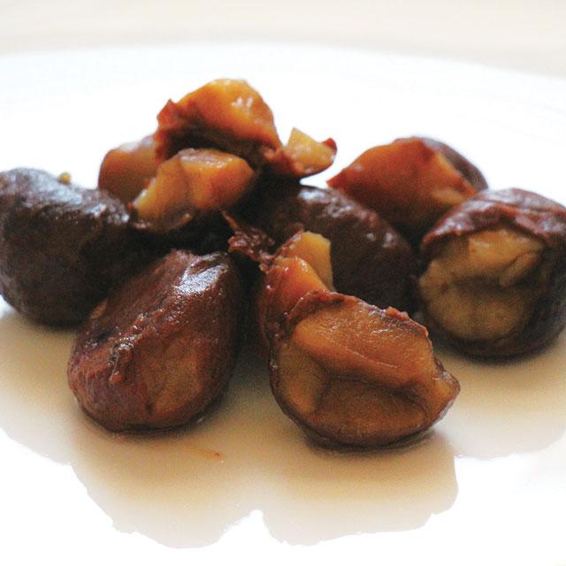 Candied Chestnuts 毎日激安特売で 営業中です EHIME 安心の定価販売 渋皮栗甘露煮小割れ JPN 580g