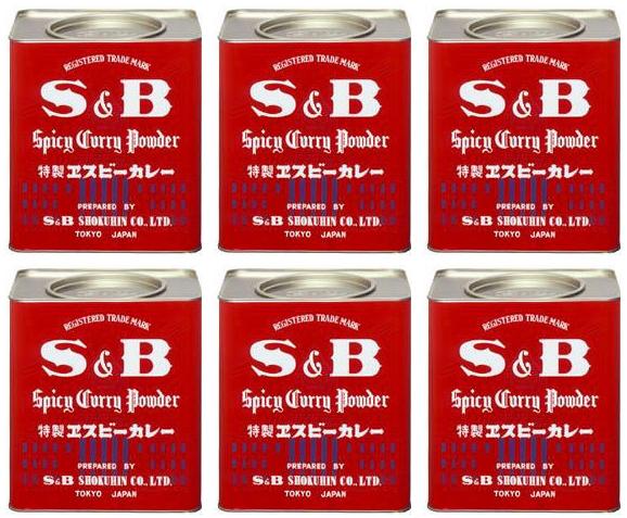 業務用エスビー食品 エスビー食品カレー粉 2kg×6個 [送料無料]