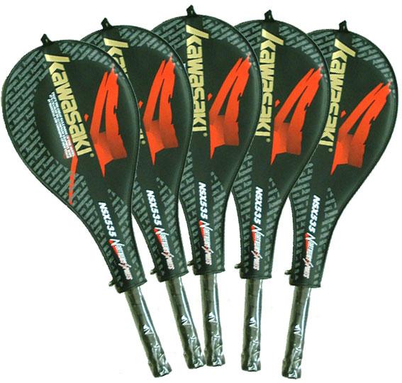 軟式テニスラケット 5本セット