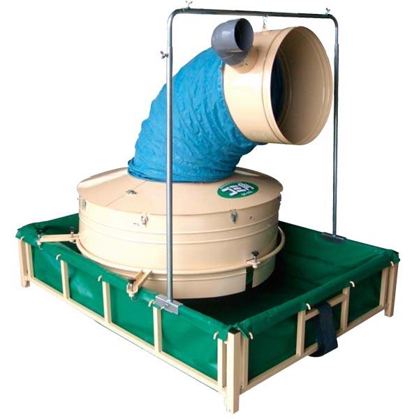 【ホクエツ】 穀物乾燥機用集塵機 ゴミ角 GK-50SF [集塵機/乾燥機/穀物乾燥機]