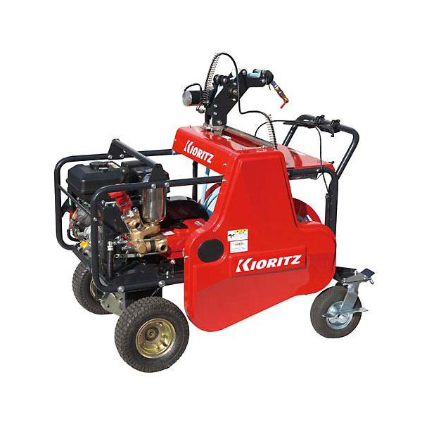 【KIORITZ/共立】自走式キャリーラジコン動噴 VRC617F3-10[ガソリンエンジン/噴霧器/動噴/防除機]