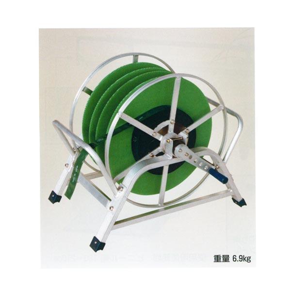 【HARAX/ハラックス】潅水チューブ・ホース・点滴チューブ・散水ホース巻取機 KM-500[巻取機/チューブ/ホース]