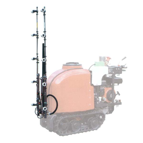 【ARIMITSU/アリミツ】静電ノズル『オートランナー・オートタンクカー両用静電ノズル AES-10B(ノズルピッチ30cm)』※取付金具別売[10頭口/有光工業]