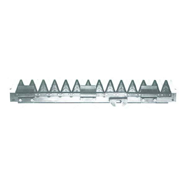 【KUBOTA】クボタ コンバイン刈刃 RX1250, RX1050, RX125, RX105 用 1台分セット [皆川農器製]