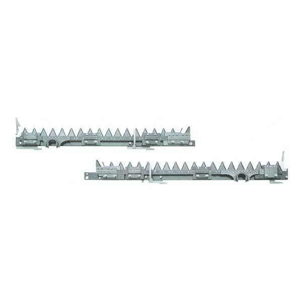 【KUBOTA】クボタ コンバイン刈刃 ER698, ER108, ER6120 用 1台分セット [皆川農器製]