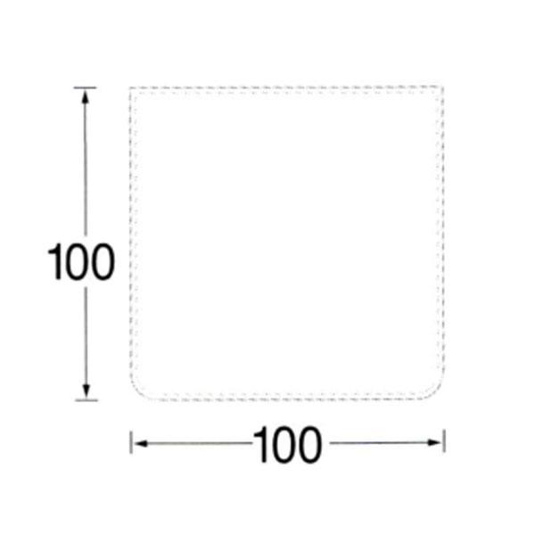 【MORSO/モルソー】薪ストーブ用品 『ガラス フロアプレート スクエア型』〈品番523520〉