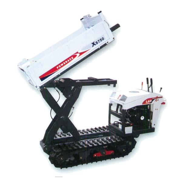 【ATEX/アテックス】石材用クローラ運搬車 『XS750LADBA』[油圧リフト&ダンプ]