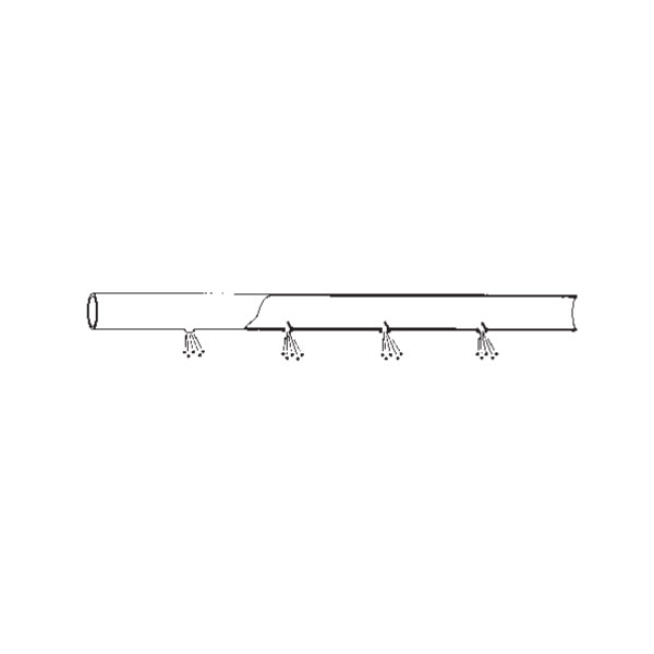 【MARUYAMA/丸山製作所】背負動力散布機アタッチメント 『エコマキホース EM』 散布幅 50m〈品番128905〉