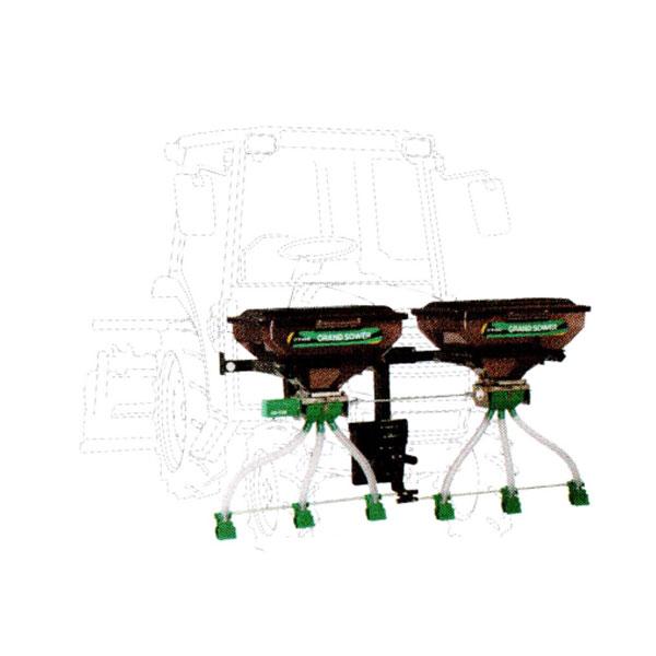 【TAISHO/タイショー】肥料散布機 グランドソワー『UX-110F』 フロントタイプ[粒状肥料 土壌改良剤 有機ペレット 砂状肥料]