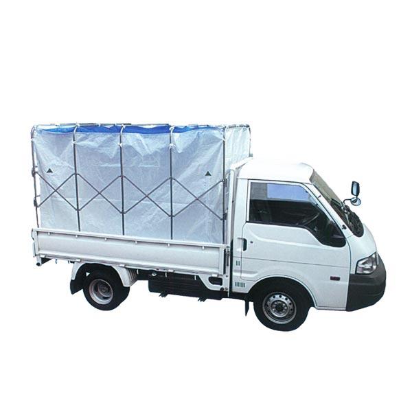 【笹川農機】籾ガラ運搬コンテナ スライドX 『SSR-5』 普通トラック約5反歩用