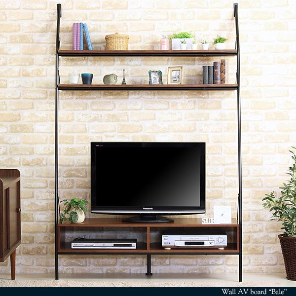 壁面収納 テレビ台 幅120cm[d]