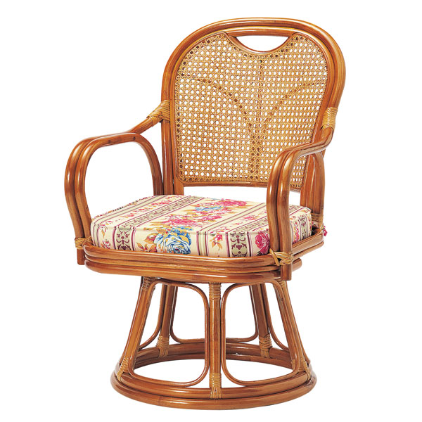 Rattan rotating Chair rattan rotating Chair Middle type armchair Chair aged  day  to old people. marusiyou   Rakuten Global Market  Rattan rotating Chair rattan