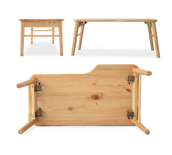Marusiyou rakuten global market mite mite wooden center table mite mite wooden center table width 80 cm lightweight folding table folding folding table w pc watchthetrailerfo