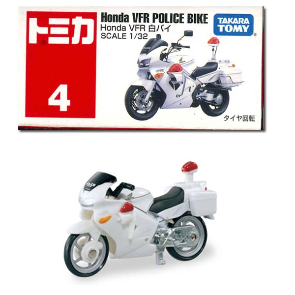 tomika 004.HondaVFR白色警用摩托