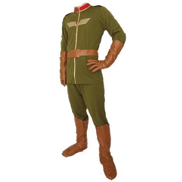 機動戦士ガンダム ジオン公国軍 下士官制服 L コスパ コスプレ キャラクターコスチューム 衣装仮装 なりきり変身