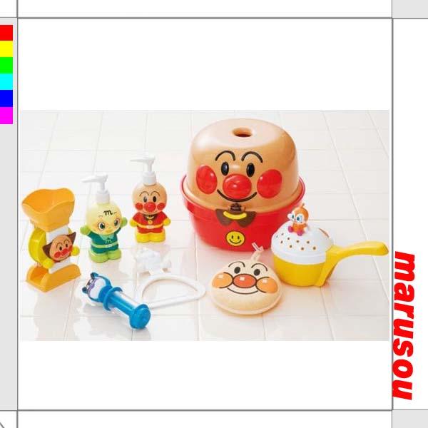 Toys, toys, bath toys, anpanman has and fun! Bath set
