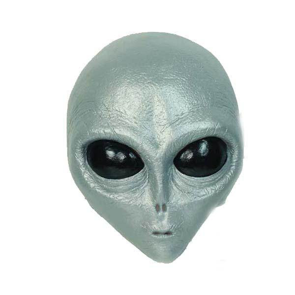 Gray Alien Mask Ogawa Studio Rubber Direction
