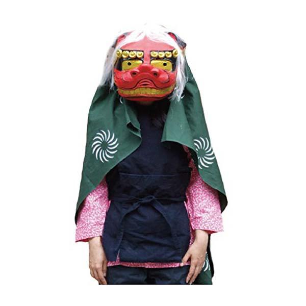 獅子舞セット オガワスタジオ パーティーグッズ 衣装 コスチューム 大道芸 お正月 演芸 伝統芸 ++