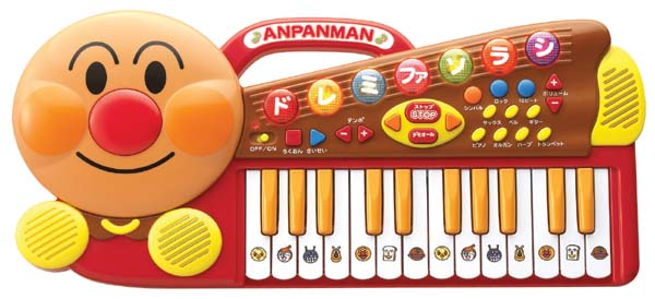 ★ anpanman NEW shiny keyboard toys, toy, toys, instruments, music toy, played and music and keyboard