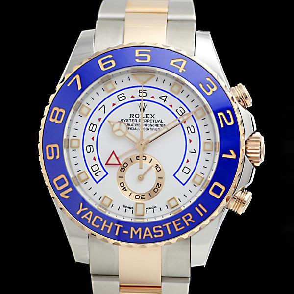ロレックス ROLEX ヨットマスター2 116681 ランダム ルーレット メンズ腕時計