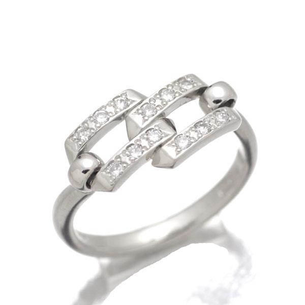 プラチナ ダイヤモンド リング 10号