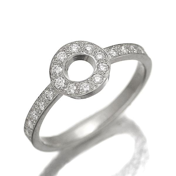 ティファニー TIFFANY&Co. プラチナ ダイヤモンド リング 11.5号
