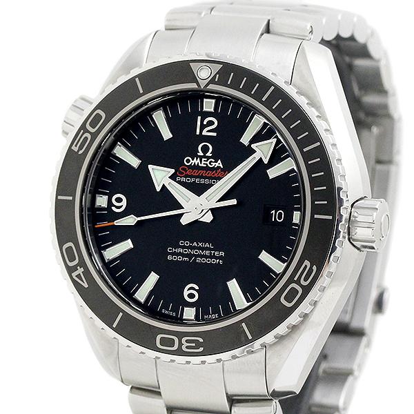 オメガ OMEGA シーマスター プラネットオーシャン 600M コーアクシャル メンズ腕時計 クロノメーター 自動巻 232.30 保証書