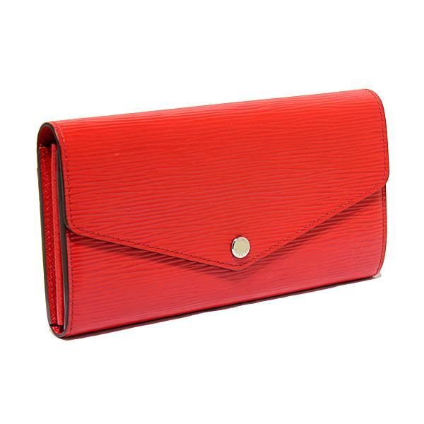 ルイヴィトン LOUIS VUITTON エピ ポルトフォイユ サラ 長財布 コクリコ 赤 M60723
