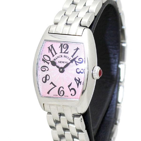 フランクミュラー FRANCK MULLER トノーカーベックス レディース腕時計 クォーツ