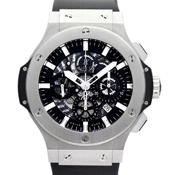 ウブロ HUBLOT ビッグバン アエロバン スチール 311.SX.1170.RX メンズ腕時計 保証書