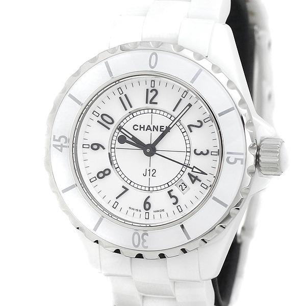 シャネル CHANEL J12 H0968 レディース 腕時計 ホワイト クォーツ