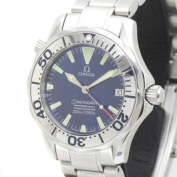 オメガ OMEGA シーマスタープロフェッショナル300m SS ブルー文字盤 メンズ腕時計 2253.80 自動巻