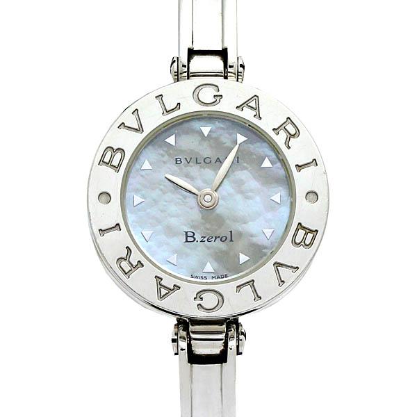 アウトレット 送料無料 中古 6ヶ月保証 ブルガリ BVLGARI ビーゼロワン BZ22S 《週末限定タイムセール》 クォーツ Sサイズ レディース腕時計 Bzero1 シェル文字盤
