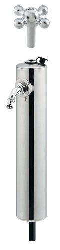 【送料無料】カクダイ 共用ステンレス水栓柱(ショート型)(品番:624-082)