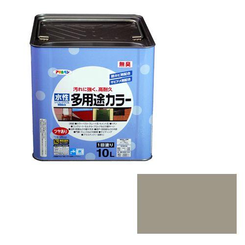 アサヒペン 水性多用途カラー(品番:10L ライトグレー)