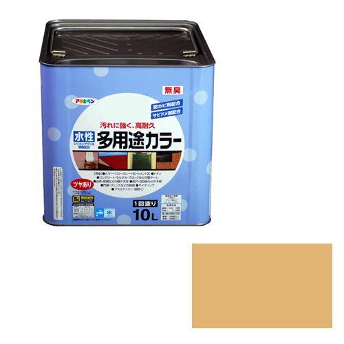 アサヒペン 水性多用途カラー(品番:10L シトラスイエロー)
